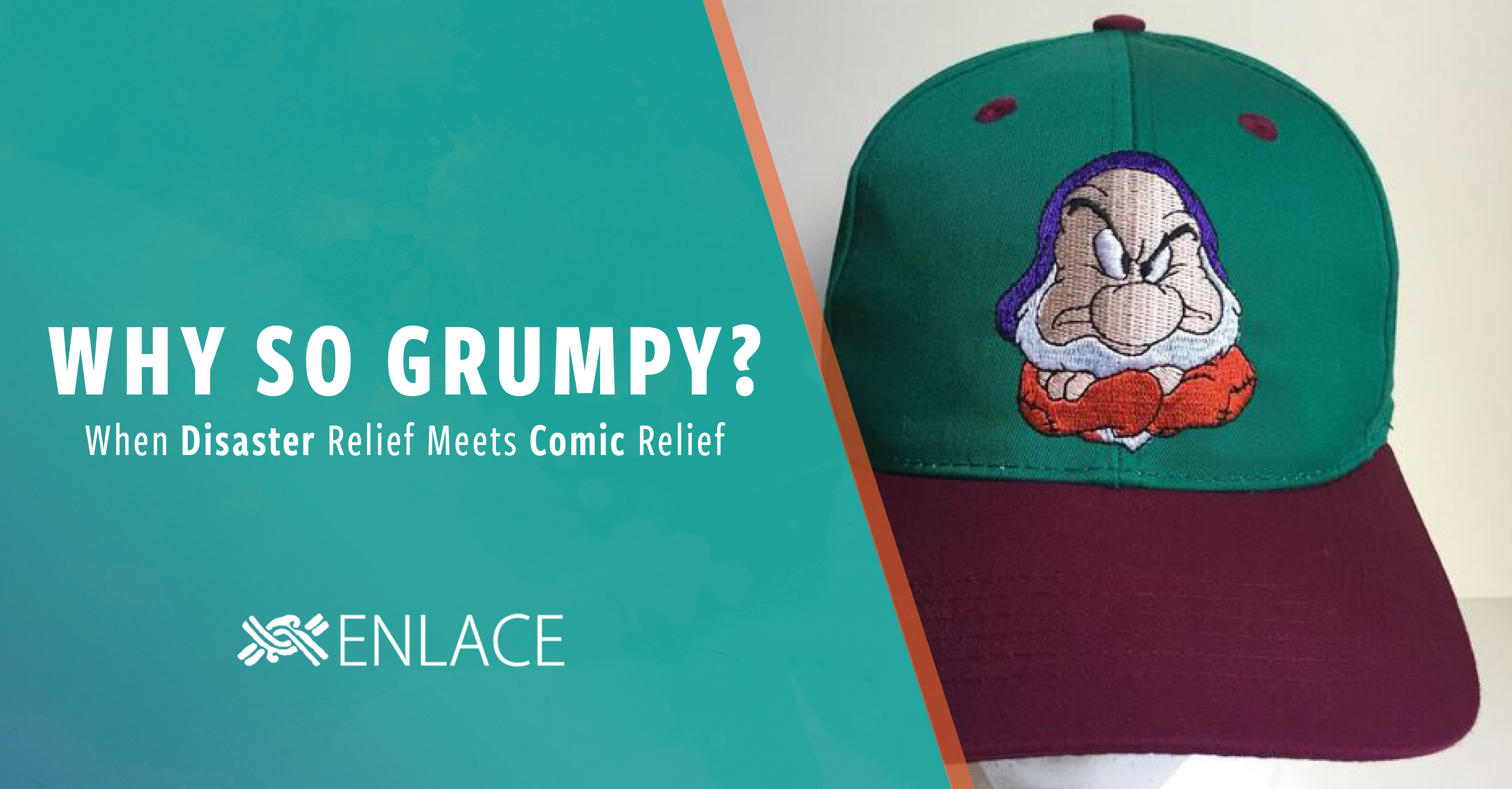 Why So Grumpy?: When Disaster Relief Meets Comic Relief