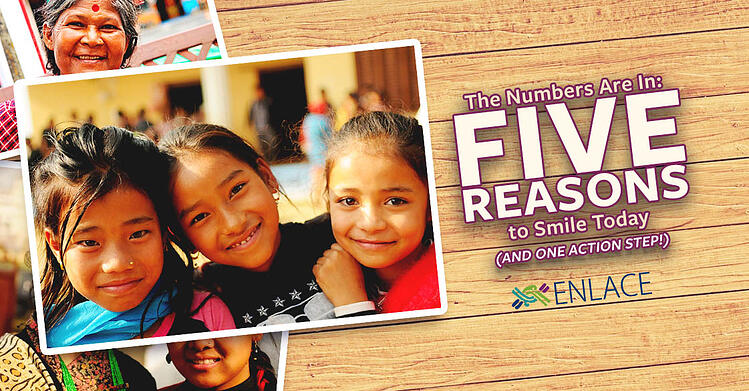 The Numbers Are In: Five Reasons to Smile Today