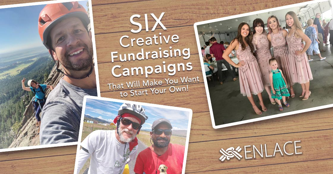 Check out these six creative fundraising campaigns