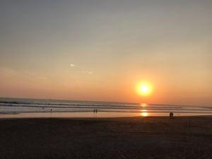 Sunrise at Salvador Beach