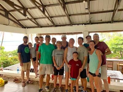 ENLACE family serving trip in El Salvador